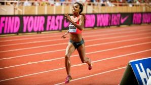 Дибаба срещу Семеня на 800 м на Диамантената лига в Доха