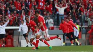 Бенфика и Порто продължават гонитбата в португалското първенство с нови победи