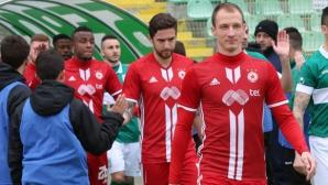 ЦСКА-София поздрави Антон Недялков