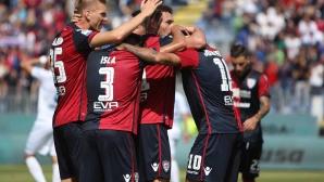 Пескара копае дъното на Серия А