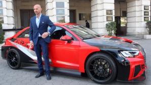 Пламен Кралев взе първи точки за сезона с новия си автомобил