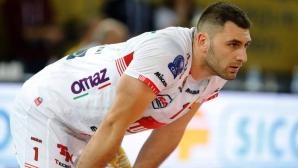 Супер Цецо Соколов с 23 точки, Лубе с бронза от Шампионската лига