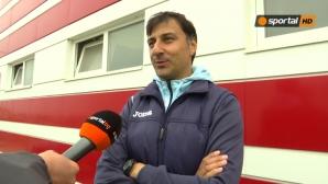 Арангелов: Не съм оптимист с тази игра, няма как да отлича някой (видео)