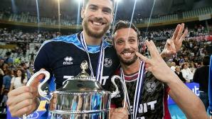 Теди Салпаров и Зенит с трета поредна титла в Шампионската лига (снимки)