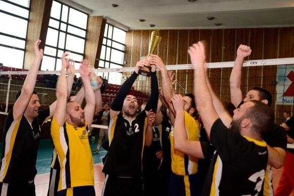 Evilball постигна златен дубъл във Volley Mania