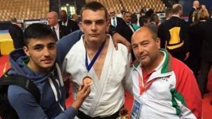 Втори бронз за Ивайло Димитров от Европейска купа по джудо за кадети