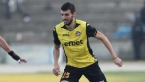 Крум Стоянов се върна в групата на Ботев (Пловдив) за мача с Верея