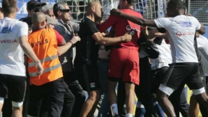 Служебна загуба за Бастия след инцидентите в Лион