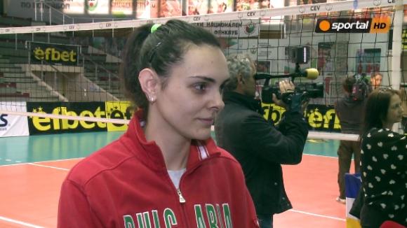 Диана Ненова: Българският волейбол се нуждае от подкрепа (видео)