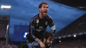 Рамос подстрекава Кристиано да симулира срещу Атлетико (видео)