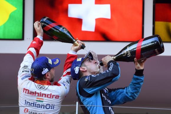 Буеми спечели петия кръг от Формула Е в Монако след здрава битка с Ди Граси