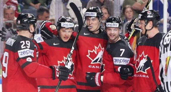 Канада и Швеция допълниха големия квартет на световното по хокей на лед