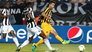 АЕК (Атина) поведе в гръцките плейофи за Шампионската лига
