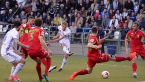 Благо Георгиев се порадва само няколко секунди