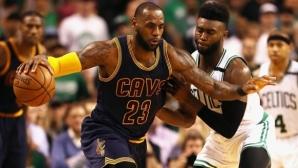 Кливланд продължава без грешка от началото на плейофите в НБА