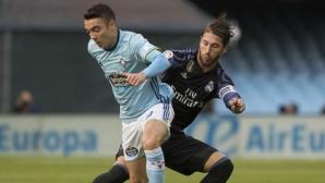 Два жълти картона на Аспас или дузпа и нарушение срещу Реал Мадрид? (видео)