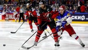 Канада на финал след впечатляващ обрат над Русия в последната част