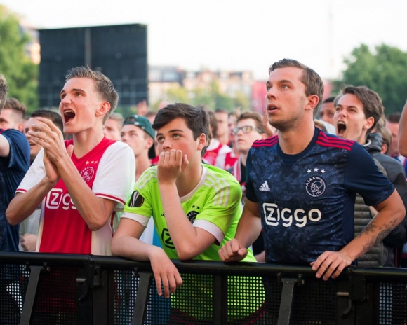 100 000 фенове на Аякс гледаха финала в центъра на Амстердам