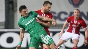 Финалът Лудогорец - Ботев Пд от значение за цели 8 отбора в Първа лига