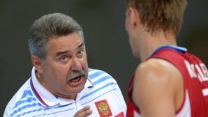 Русия победи Естония в дебюта на Сергей Шляпников (снимки + видео)