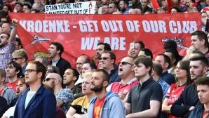 Крьонке отряза Усманов: Акциите ми не се продават, имам дългосрочни планове за Арсенал