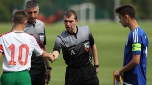 България U16 завърши 1:1 с Кипър U16 в контрола