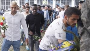 Ръководство и футболисти поднесоха венци в чест на годишнината на Левски