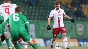 Арсенио: Искам да продължа головата си серия срещу Левски