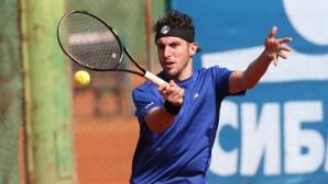 Васко Младенов отпадна от турнир по тенис в Украйна