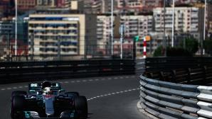 Хамилтън поведе още от първата тренировка в Монако