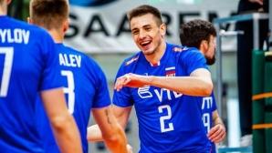 Русия с втора лесна победа на световната квалификация в Талин