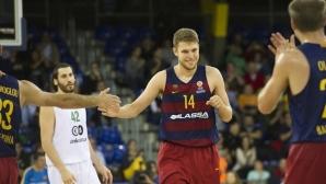 Везенков и Барселона изравниха серията срещу Валенсия