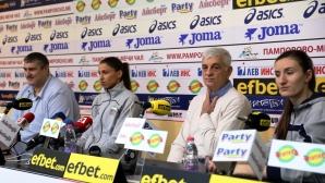 Волейболистките мотивирани да спечелят световната квалификация (галерия)