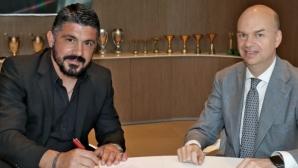 Гатузо: Искам Милан да спечели всичко с Монтела, не се целя в мястото му
