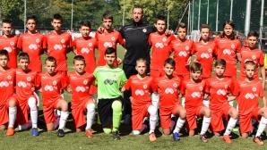 Децата на ЦСКА-София шампиони без да загубят точка