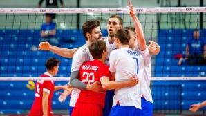 Русия продължава непобедена на световната квалификация в Талин