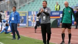Треньорът на ЦСКА-София за мача с Левски: Мисля, че няма да имаме проблем с победата