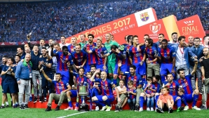 Финал: Барселона - Алавес 0:0 (гледайте на живо)
