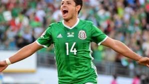 Чичарито стана голмайстор №1 в историята на националния отбор на Мексико (видео)