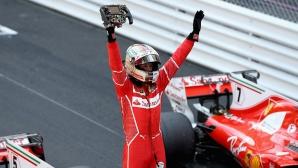 Фетел триумфира в Монако, Ферари с двойна победа