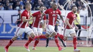 ЦСКА-София - Левски 1:0, отново гол от съблекалнята