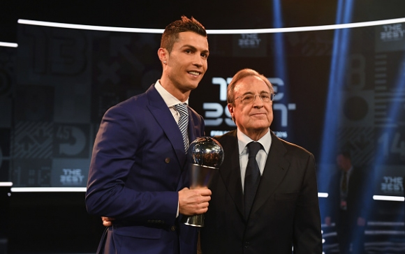 """Флорентино Перес: Нямам никакви съмнения, че Кристиано ще вземе пета """"Златна топка"""""""