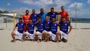 МФК Спартак (Варна) стартира днес участието си в Шампионската лига по плажен футбол в Португалия