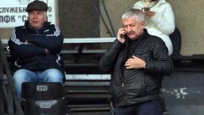 Крушарски призна за проблемите, застана зад Войнов