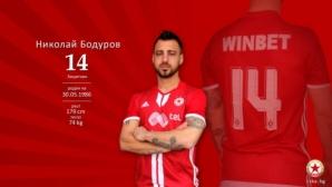 ЦСКА-София поздрави Бодуров