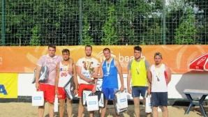 Василев и Иванов отново откриха сезона в Beach Volley Mania с титла