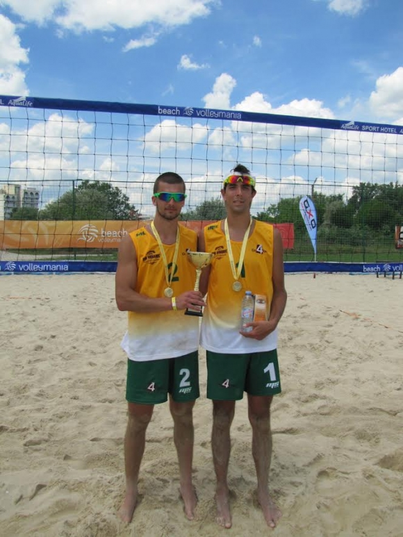 Кордев и Христов спечелиха турнира по плажен волейбол от Beach Volley Mania в Кранево
