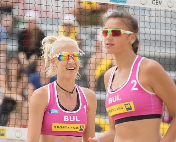 Николова и Николова приключиха участието си на Европейското по плажен волейбол