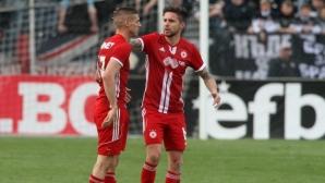 Белчев изведе 17 футболисти на тренировка преди заминаването за Австрия