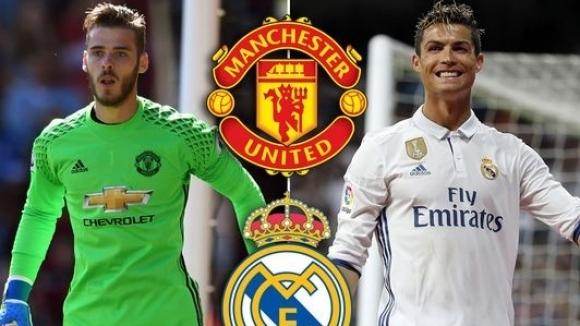 Ман Юнайтед предлага 175 милиона плюс Де Хеа за Кристиано